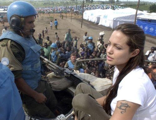 """Jon Voight's Daughter ~ Angelina Jolie. It's official. The """"UN Goodwill Ambassador"""" Angelina Jolie will front for the """"prestigious"""" NWO """"think tank,"""" the Council on Foreign Relations."""