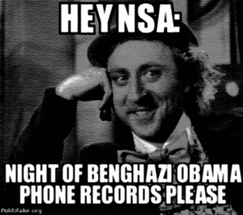 nsa benghazi obama phone records