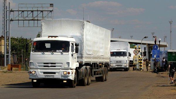 2,000 Tons Of Russian Humanitarian Aid Makes Its Way To Eastern Ukraine.