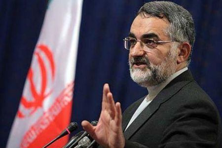 Chairman of Iran's Majlis National Security and Foreign Policy Committee Alaeddin Boroujerdi