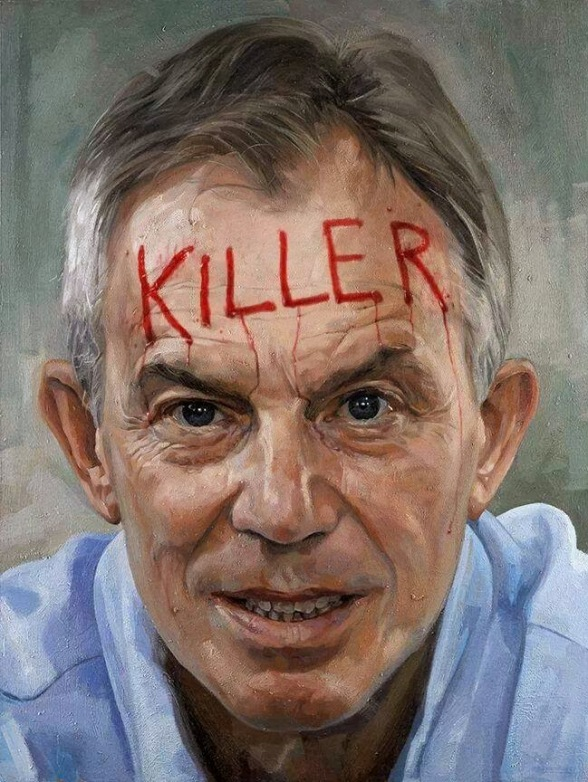 tony Blair the Murderer