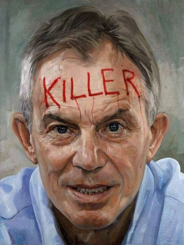 tony Blair the Murderer