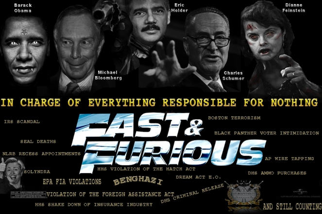 FAST FURIOUS GUN REPOSNSIBLE NOTHING