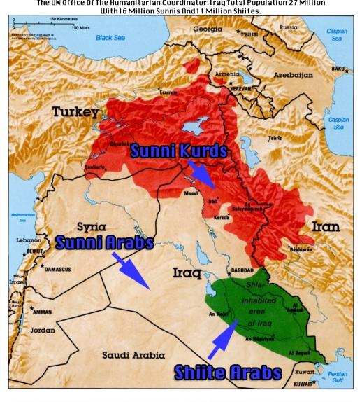 Sunni Shiite Iraq