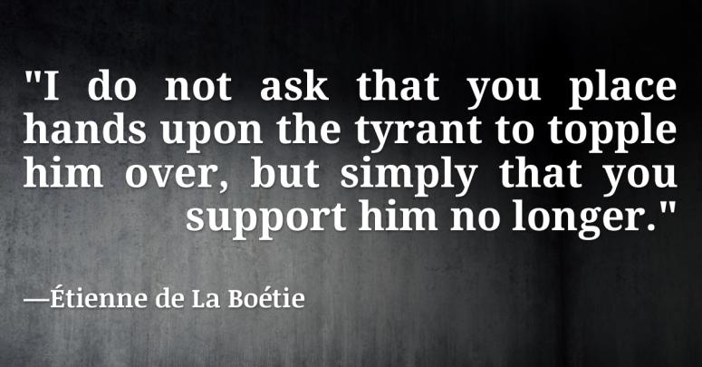 tyranny support