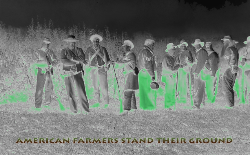 Farmers Stand Their Ground