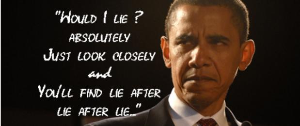 obama lie