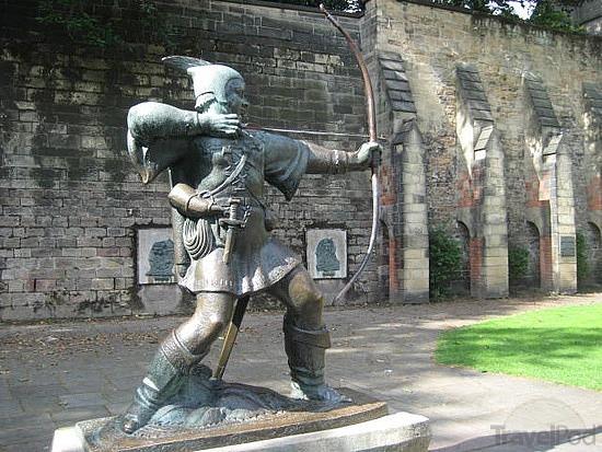 Robin Hood in Nottingham, England
