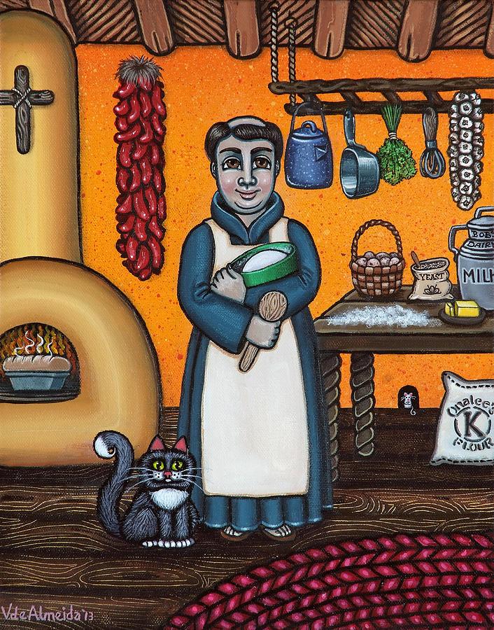 Saint Pascual Making Bread