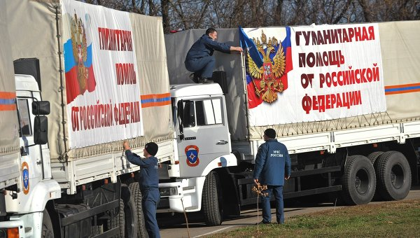 Russia will send a new batch of humanitarian aid to eastern Ukraine.