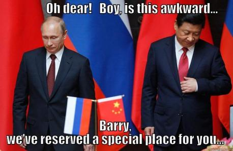 Russia China Cuts Out The Middle Man
