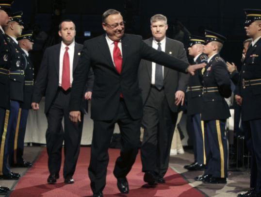 State Of Maine Governor LePage