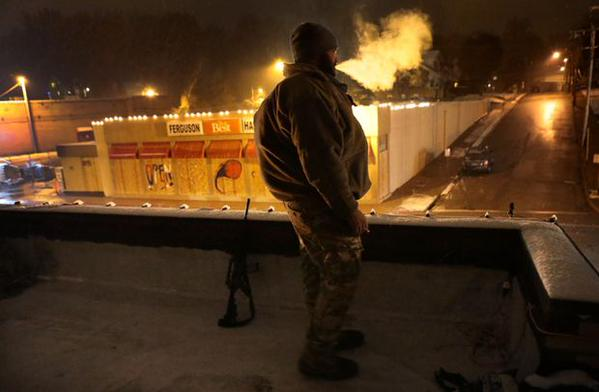 Oath Keepers Team in Ferguson has successfully kept arsonists from burning four businesses