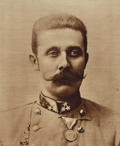 Archduke Franz Ferdinand, whose assassination triggered World War One