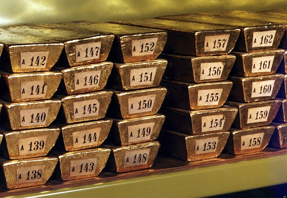 Germany's gold bullion. Where is it?