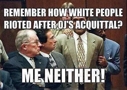 white riot O.J. Simpson