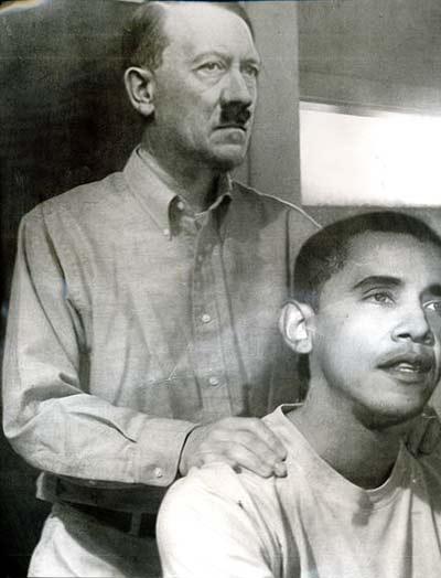 Hitler Obama