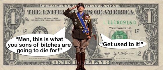General George S. Patton Knew He Was Being Targeted By The Zionist Bankers.