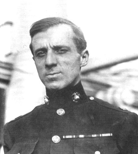 Marine Corps Major General Smedly Butler.