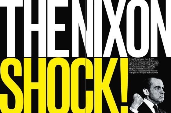 "The ""Nixon Shock"""
