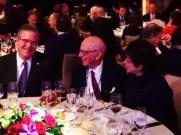 Zionist Murdoch With Jebby Bush