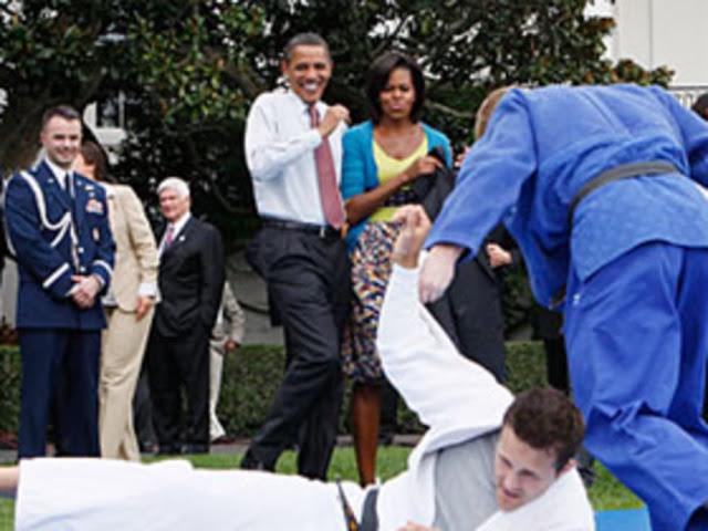obama judo