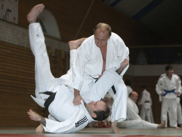 President Putin Sixth Degree Judo Black Belt