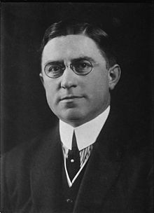 Louis Thomas McFadden was a Republican member of the United States House of Representatives from Pennsylvania, serving from 1923 to 1935.