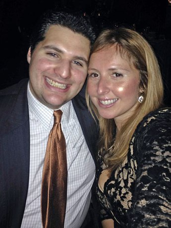 Michael A. Tabacchi, 27, and his wife, Iran Pars Tabacchi, 41