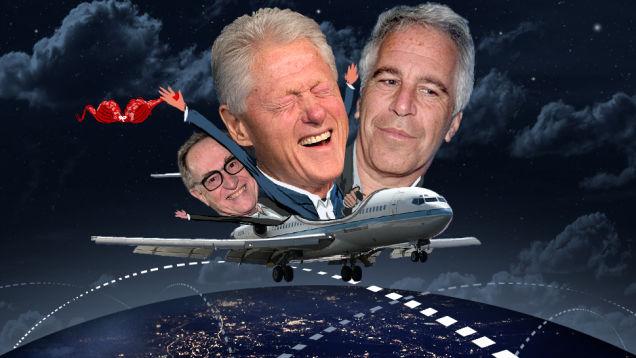 dershowitz, clinton, epstein pedophile plane