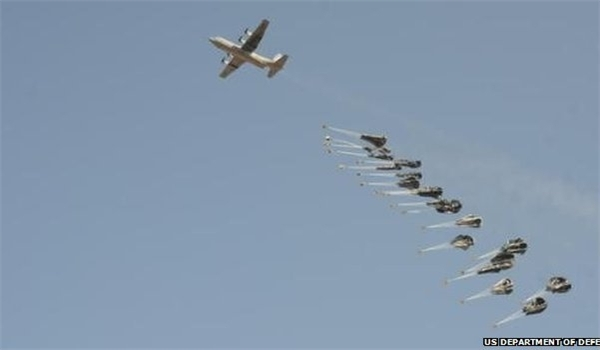 British Supply Planes For ISIS.