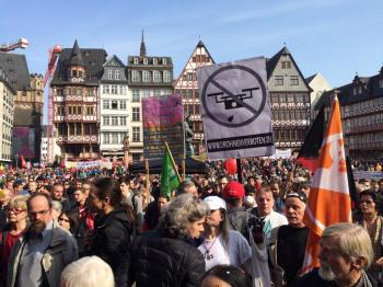 Riots Erupt In Germany As Attempt To Shut Down Rothschild's European Central Bank!