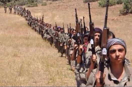 Sunni Kurds Fighting Obama's NWO ISIS In Iraq, Turkey, & Syria.