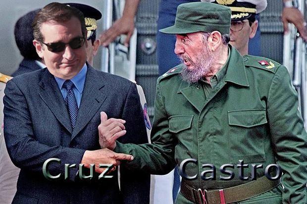 Ted Cruz Fidel Castro