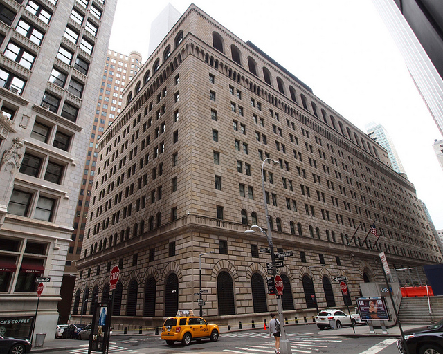 The Control Room (computer desks) for Rothschild Clandestine  FED is the New York Fed at 33 Liberty Street (nineth floor)! The overall authority is under Mr. William C. Dudley!