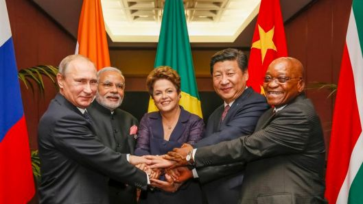 RUSSIA, INDIA, BRAZIL, CHINA, SOUTH AFRICA. It now appears Modi of India is attempting to backstab BRICS alignment. Well Rothschild's NWO took a hit with Brexit ~ so this might be an attempt to strike back. But so far it has failed miserably.
