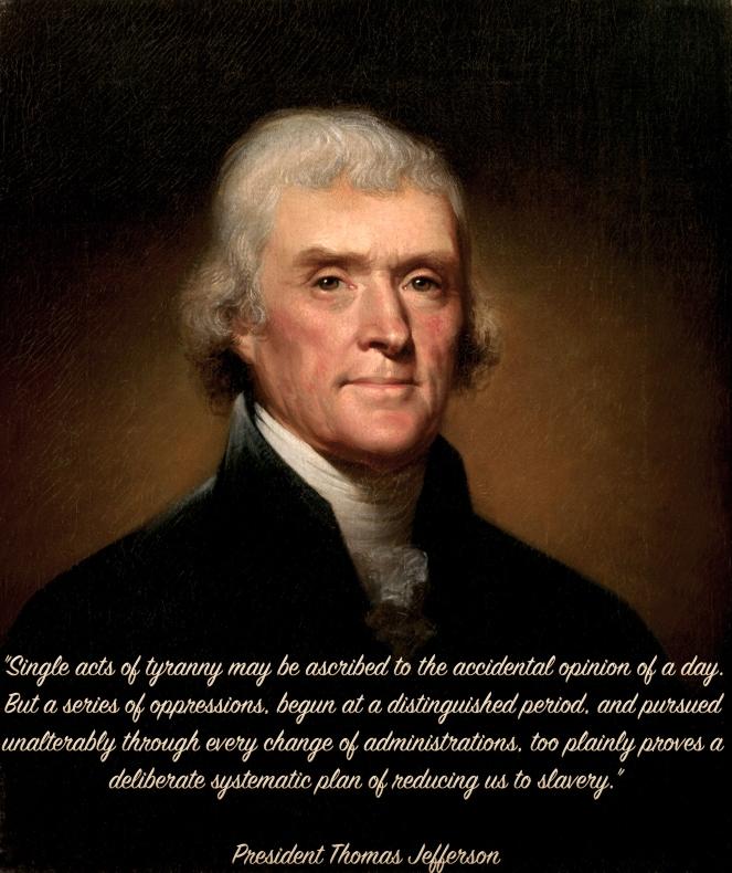 Jefferson Tyranny Acts
