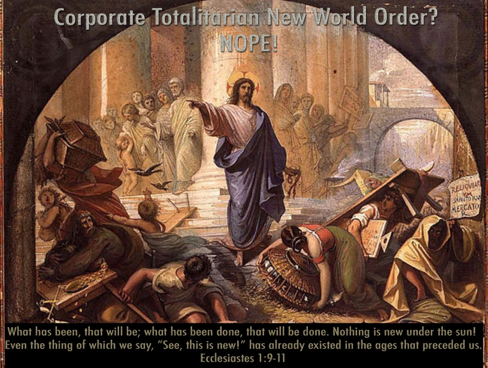 The Reset: Exorcism Of The New World Order ~ The Laudato Si. Nwo-jesus