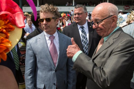 Piece Of Shit Rand Paul ~ Pimping As Murdoch's Political Cover.