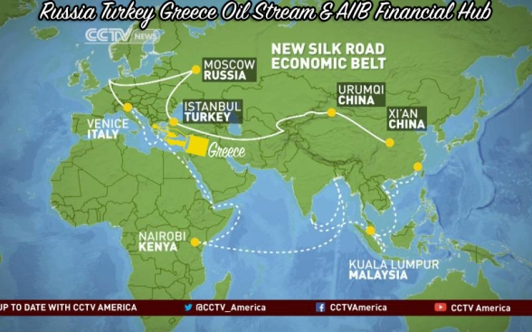 Russia Turkey Greece Oil AIIB Money