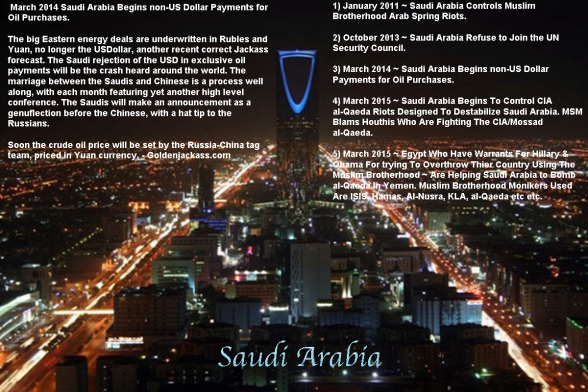 Orgy Of Rothschild Bankers: No Such Thing As Conspiracies Saudi-arabia