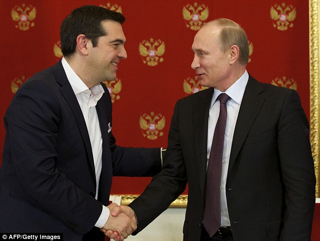 Alexis Tsipras and Vladimir Putin produce no major announcements or finance initiatives for Athens