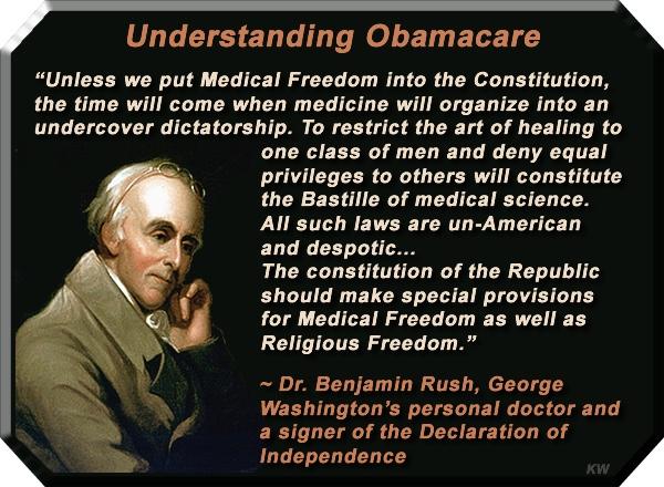 Benjamin Rush obamacare health justice
