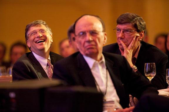 Bill Gates & Rupert Murdoch