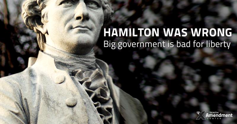 U.S. Traitor Alexander Hamilton