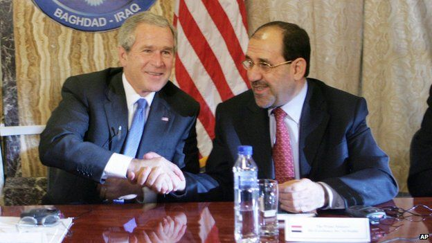 NWO Bush & NWO Maliki.