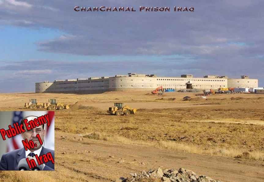Iraq ChamChamal Prison $29 Million. Wasting No Time It Was Completed IN 2009.