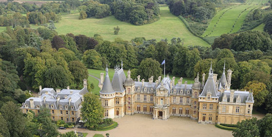 Rothschild The Urban Professional. His Home Waddesdon Manor Britain.