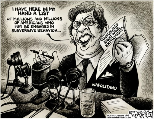DHS Janet Napolitano