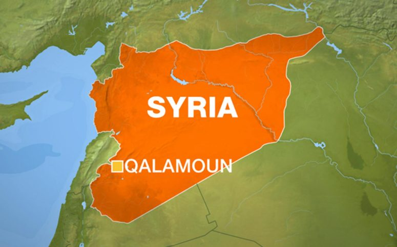 The attacks come just one day after troops loyal to Syrian President Bashar al-Assad drove rebels from the nearby village of Qara.